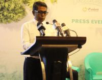 Managing Director of Maldives Marketing and Public Relations Corporation MMPRC Mr. Thoyyib Mohamed at the launch of the Im Vaccinated campaign 700x553 1 200x158 Omq56p